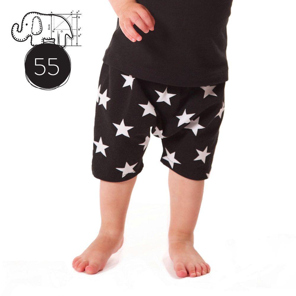 Baby toddler harem shorts pattern pdf download// baggy shorts ...