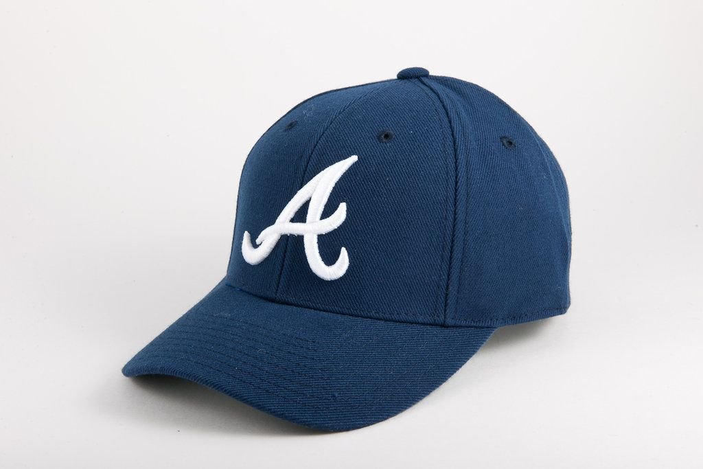 1969 Atlanta Braves Fitted Cap Braves Game Outfit Atlanta Braves Atlanta Braves Hat