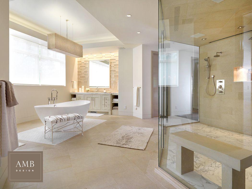 Organic Modern Master Bathroom Design By Anne Marie Barton