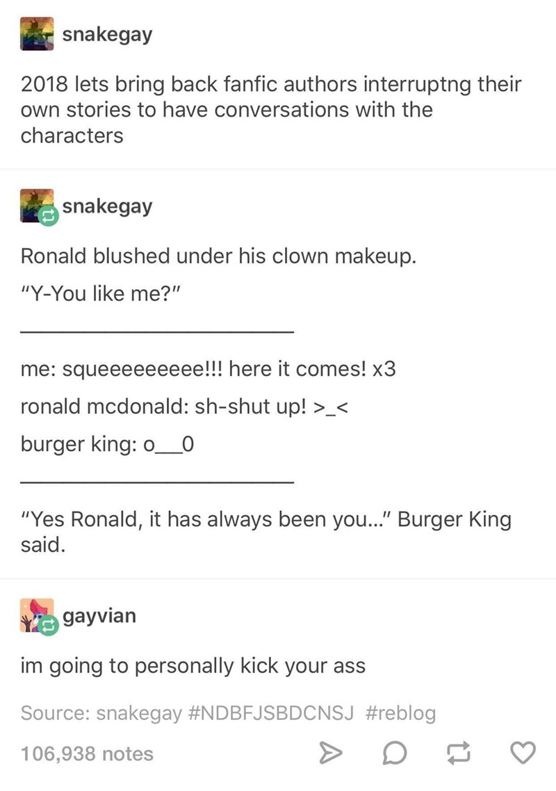 Photo of 16 Hilarious Tumblr Posts That Roast The Crap Out Of Terrible Fanfiction