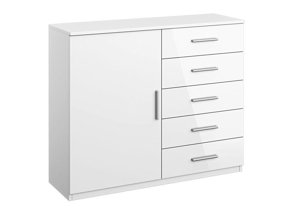 Kommode Celle 67B1 Alpinweiß Weiß 8290 Buy now at https\/\/www - schlafzimmer kommode weiß