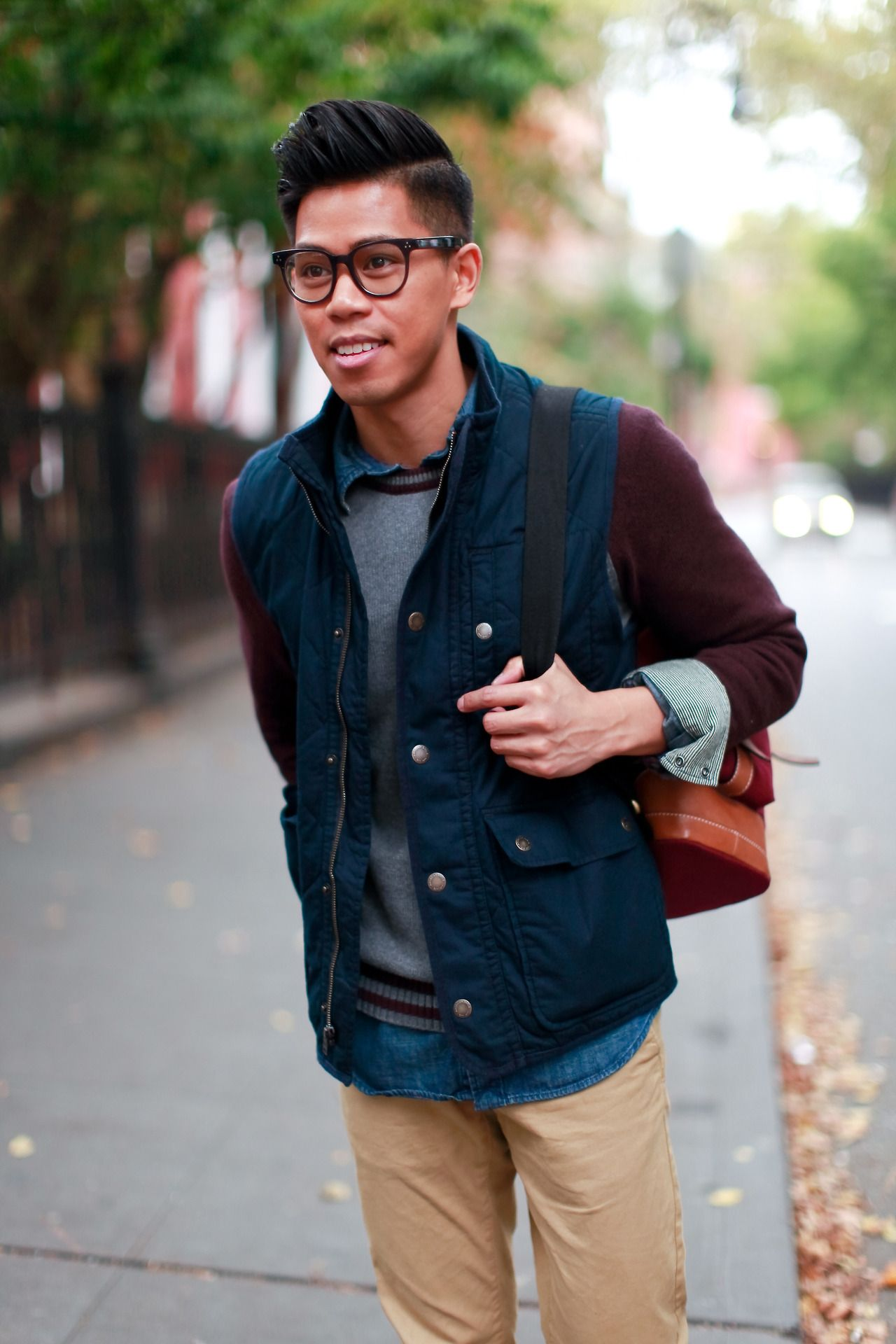 Outfit: Men's Fall Layering Layers Of Fall When... | Closet Freaks | Menswear & Personal Style