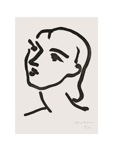 Photo of Lines Picture Home Decor Nordic Canvas Painting Wall Art Cartoon Abstract Drawing Figure Posters and Prints for Living Room – 40x60cm no frame / 2-BLT1695