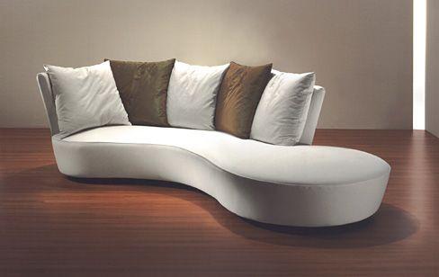 Crescent Sofa   Vladimir Kagan Couture