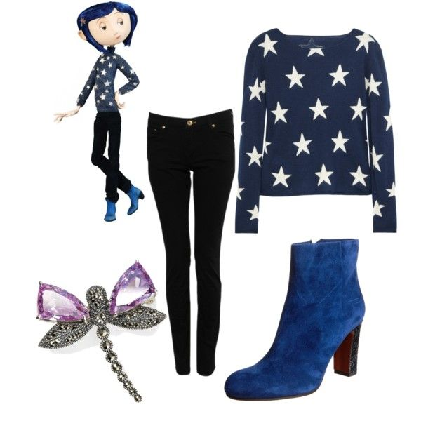 Coraline Inspired Outfit Modern Disney Outfits Themed Outfits Outfit Inspirations