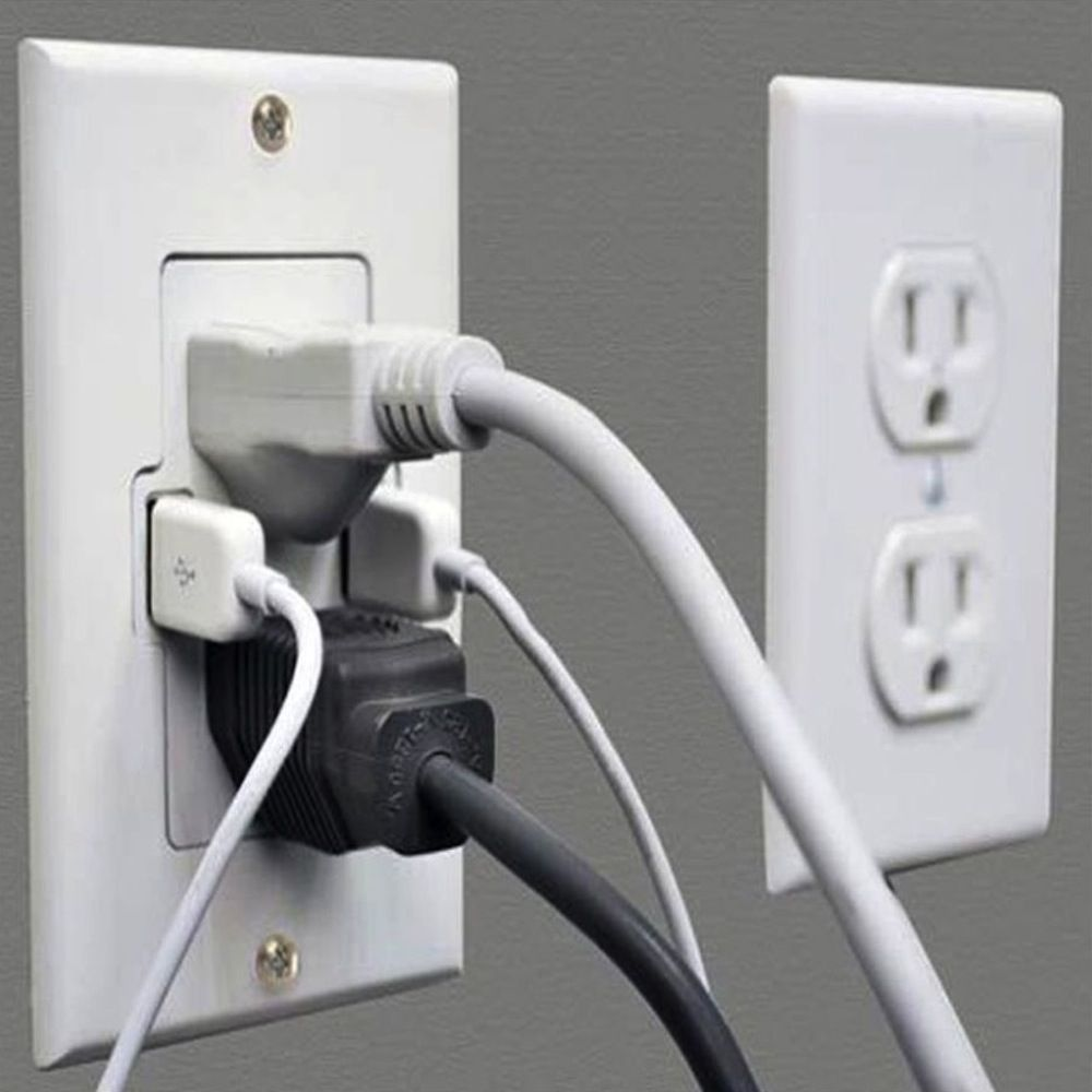 smart usb outlet home wall outlets smart home on wall outlet id=35960