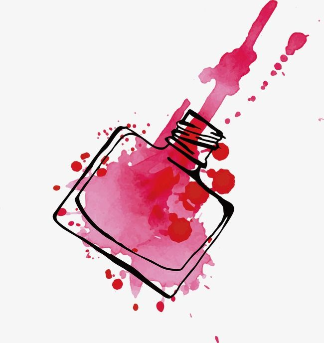 Nail Art Vector: Nail Polish Vector, Nail Vector, Make Up, Ms PNG And