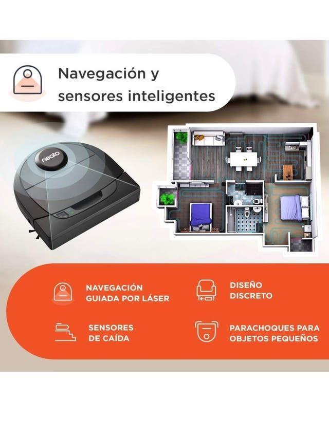 Neato Robotics D650 Premium Pet Edition Aspirador De Segunda Mano
