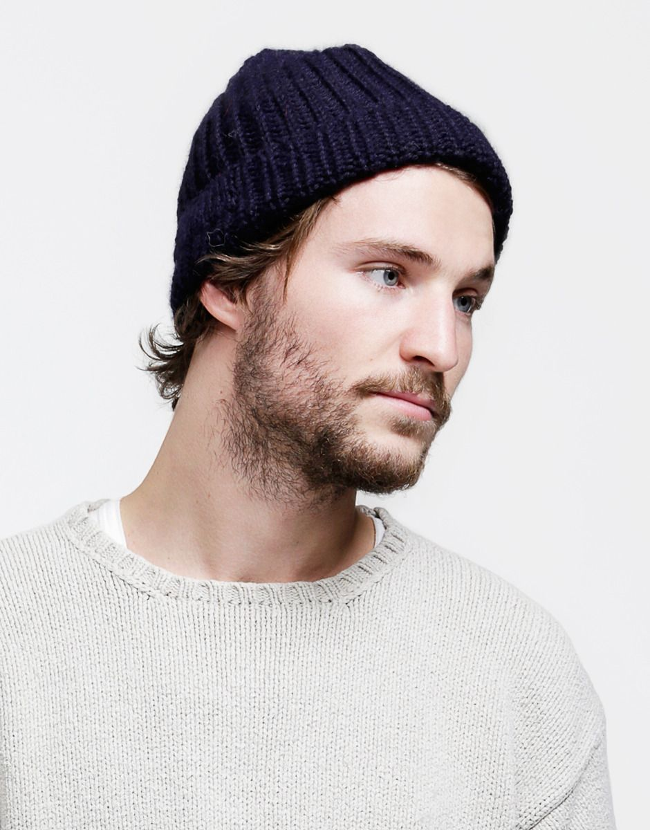Ribbed Fisherman Beanie Accessories For Him Mens Fashion
