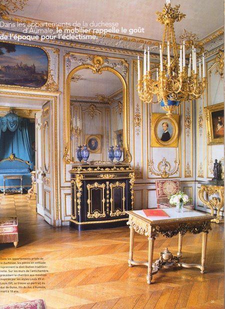 chantilly france chateau interior images Château de Chantilly - garde meuble pas cher ile de france