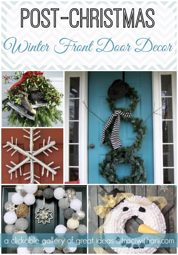 Pin By Anne Statz On Home Decor Front Door Decor Winter Porch