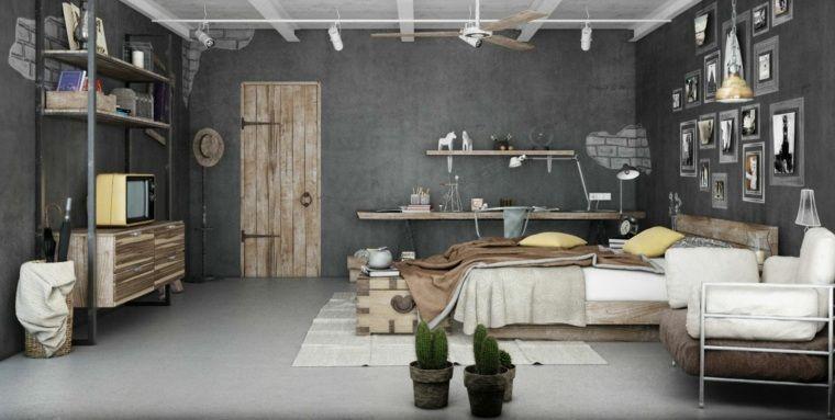 Couleur chambre adulte  idées déco avec nuances foncées Bedrooms - couleur de la chambre