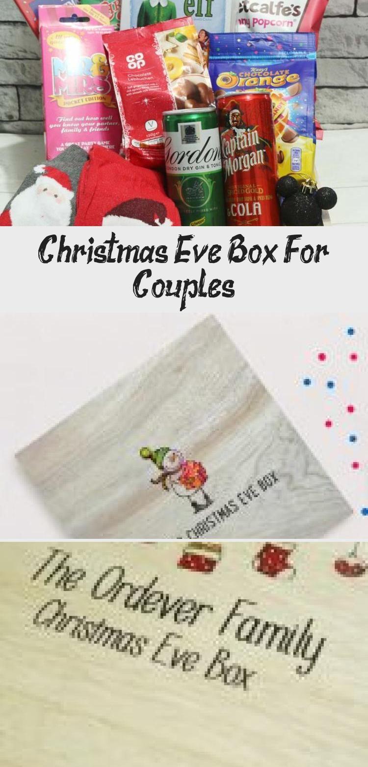 Eve Box For Couples | Christmas eve box, Christmas eve box for kids, Christmas couple