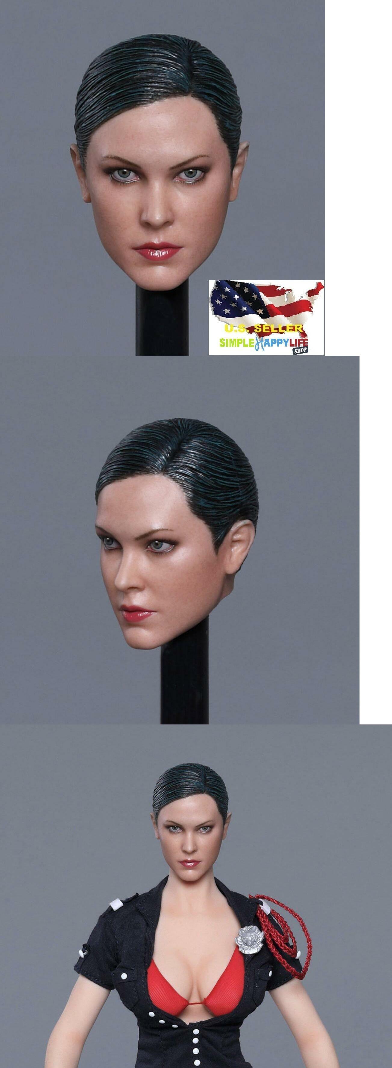 "1//6 female head sculpt tongue GC021 A for 12/"" figure phicen hot toys kumik ❶USA❶"