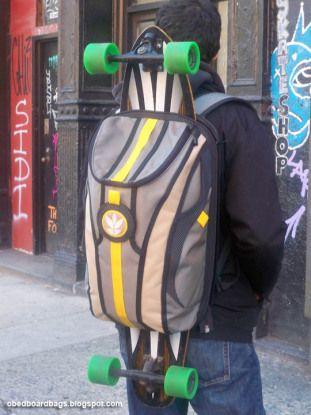 rucksack longboard