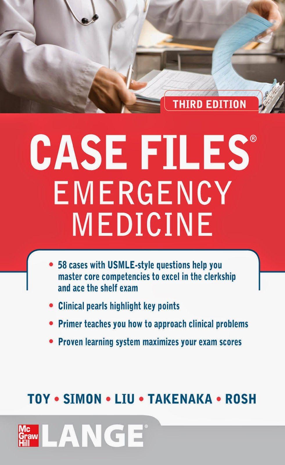 Case Files Emergency Medicine 3rd Edition PDF Emergency