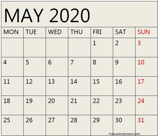 May 2020 Monthly Calendar Template Google Sheets Calendar Template Monthly Calendar Template Te Calendar Template Monthly Calendar Template Template Google