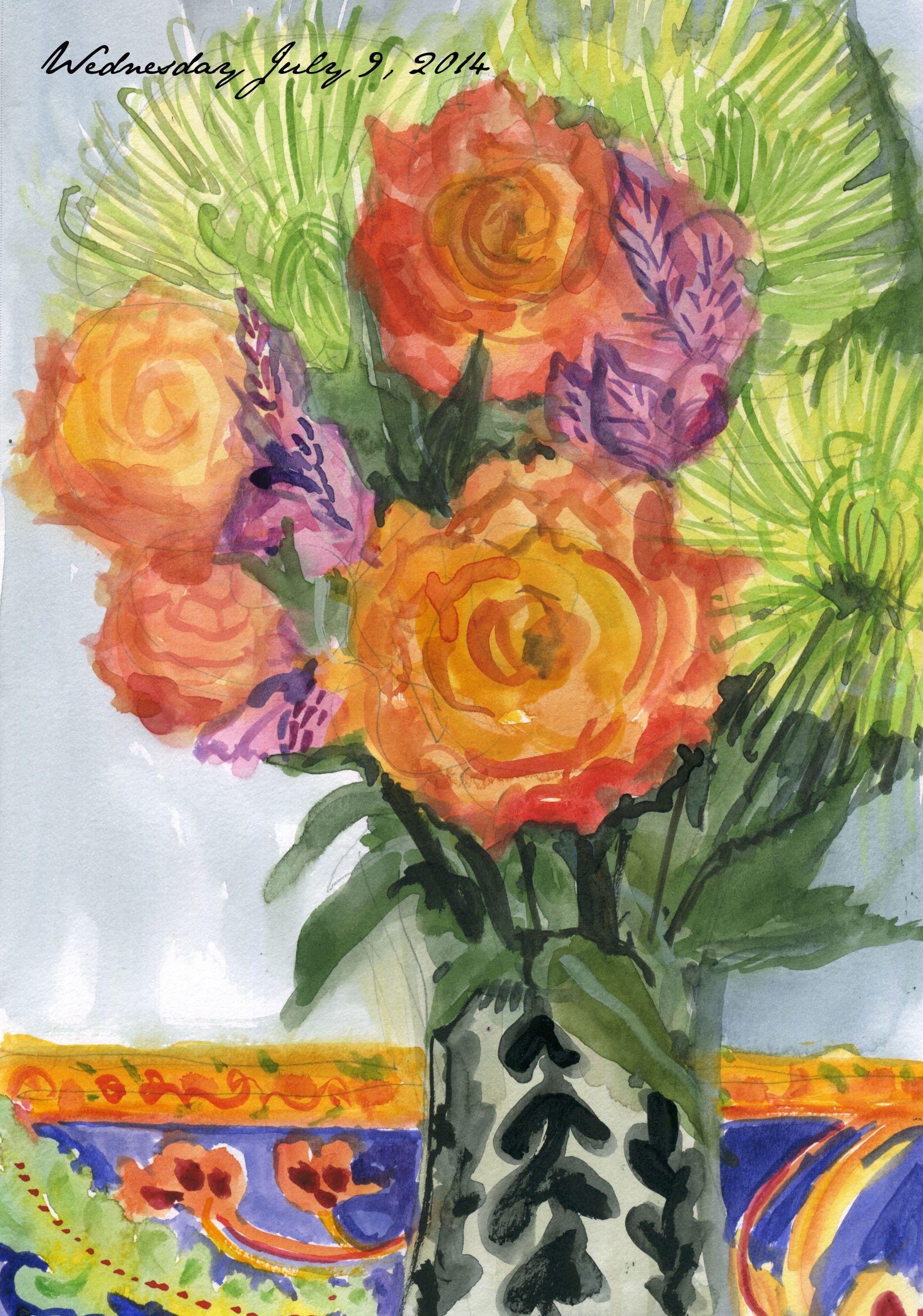 My journal 7-9-14 Julie Powell