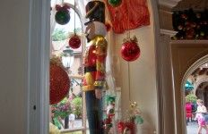 Glass Ornaments and Soldier, Christmas Corner, Germany, Epcot