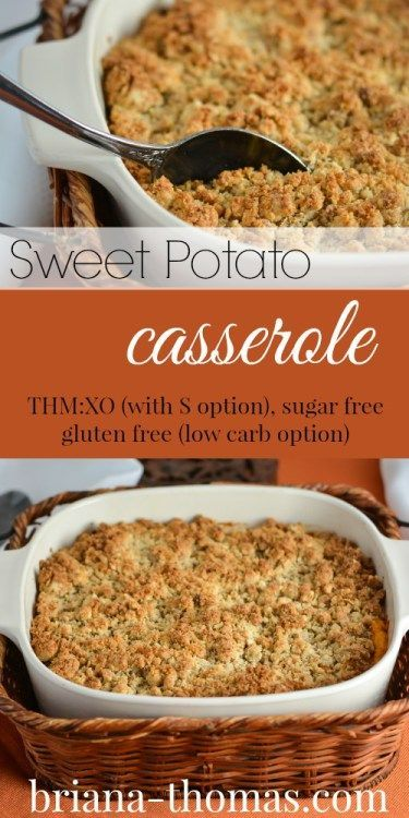 Healthy Sweet Potato Casserole Souffle It S A Crossover For