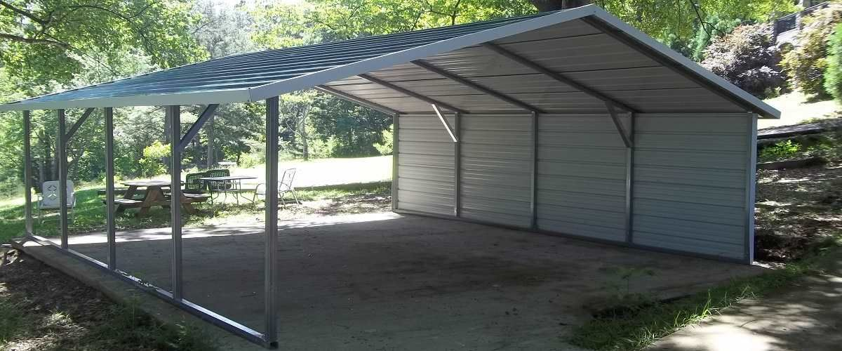 vertical roof metal carport Google Search Portable