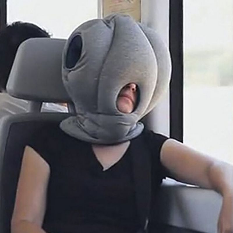 office sleeping pillow. Magic Ostrich Nap Pillow Office Travel Flight Airplane Journey Midday Rest Care Neck Pillows AA Sleeping E