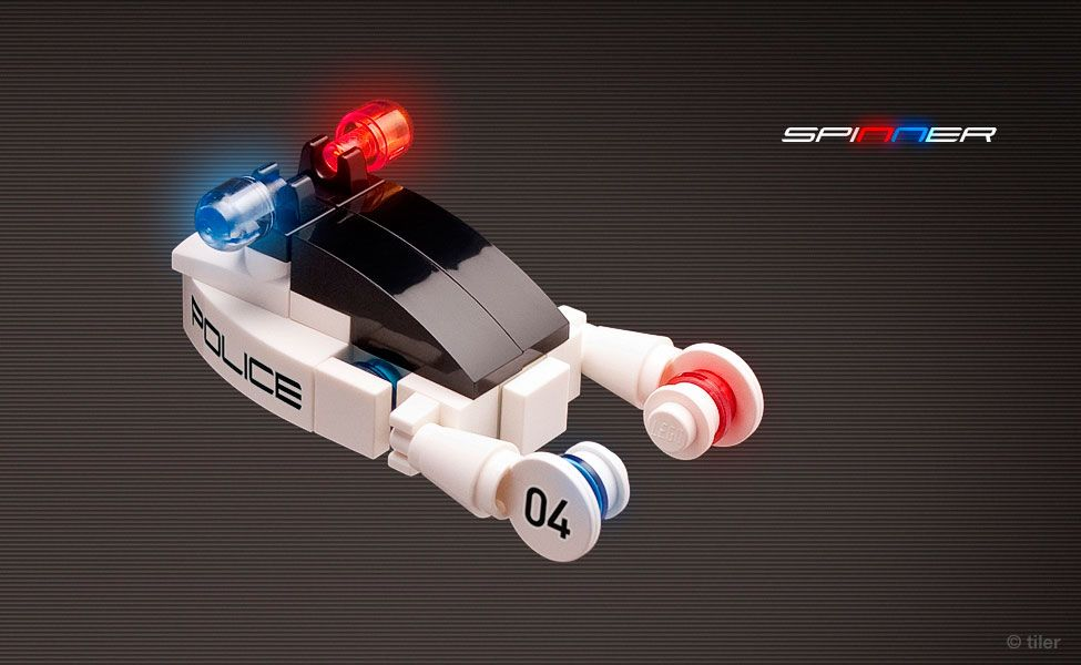 Police car from Blade Runner - Iconic sci-fi vehicles done up as ...