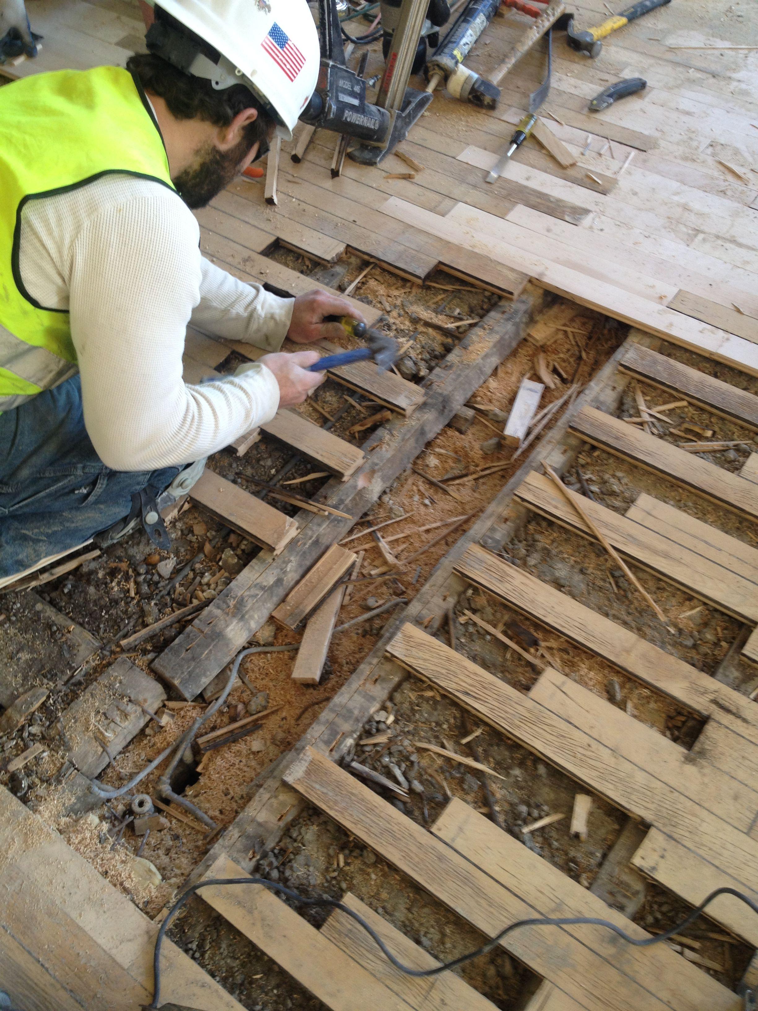 OLD wood floor repairs at UC Old wood floors, Wood floor