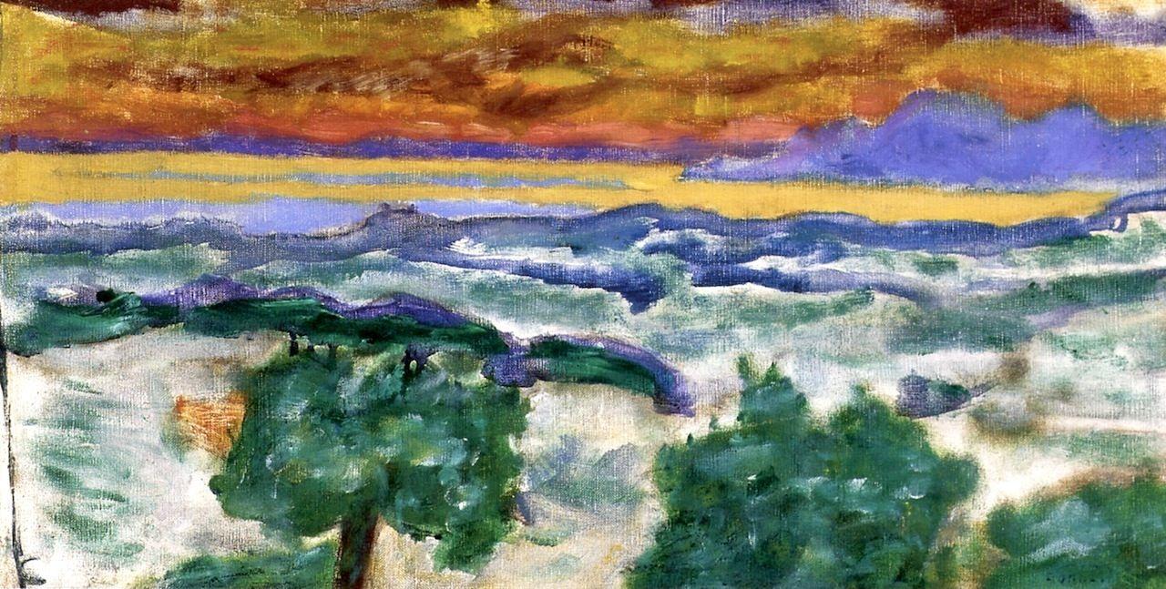 Sunset (study) / Pierre Bonnard - circa 1939