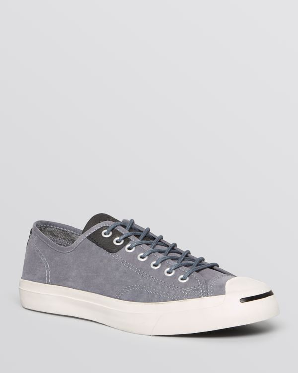 54159e1610eb Converse Jack Purcell Jack Water Resistant Low Top Sneakers ...