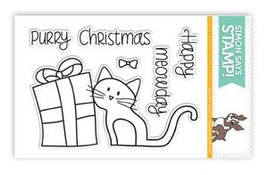 simon says clear stamps happy meowday sss101357 crafts stickers