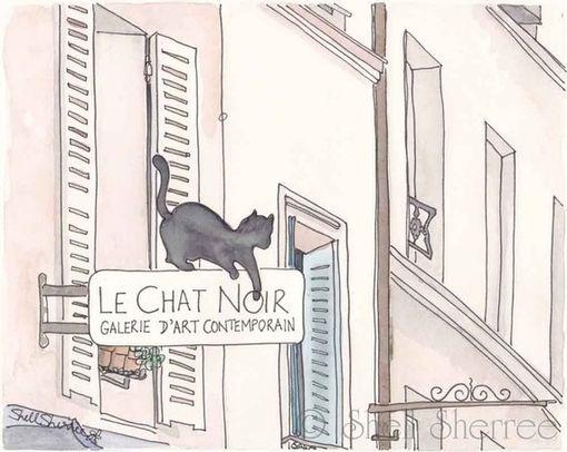 Le Chat Noir Shell Sherree Disegni