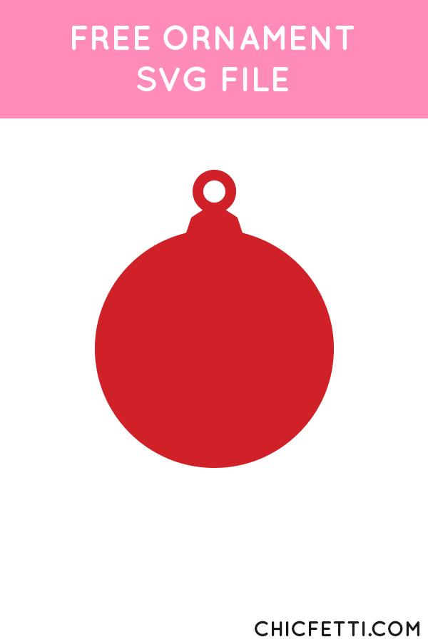 Ornaments Svg : ornaments, Ornament, Chicfetti, Card,, Ornaments,, Winter, Crafts