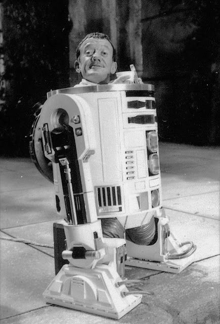 The man within the droid, Kenny Baker