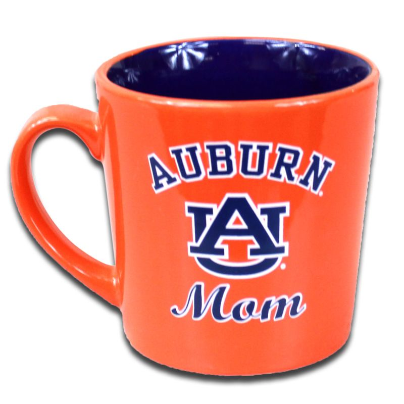 I Have This Cup Drink My Coffee In It All The Time And Think Of My Boy Mom Mug Auburn Auburn Football