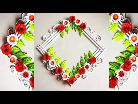 Simple Paper Crafts For Home Decoration Valoblogi Com