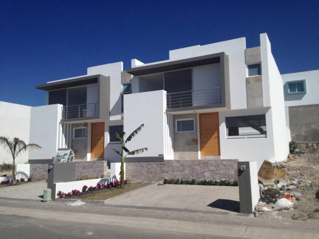 Qué Son Las Casas Adosadas Diseños Y Ventajas Homify Casas De Dos Pisos Casas Modernas Casas