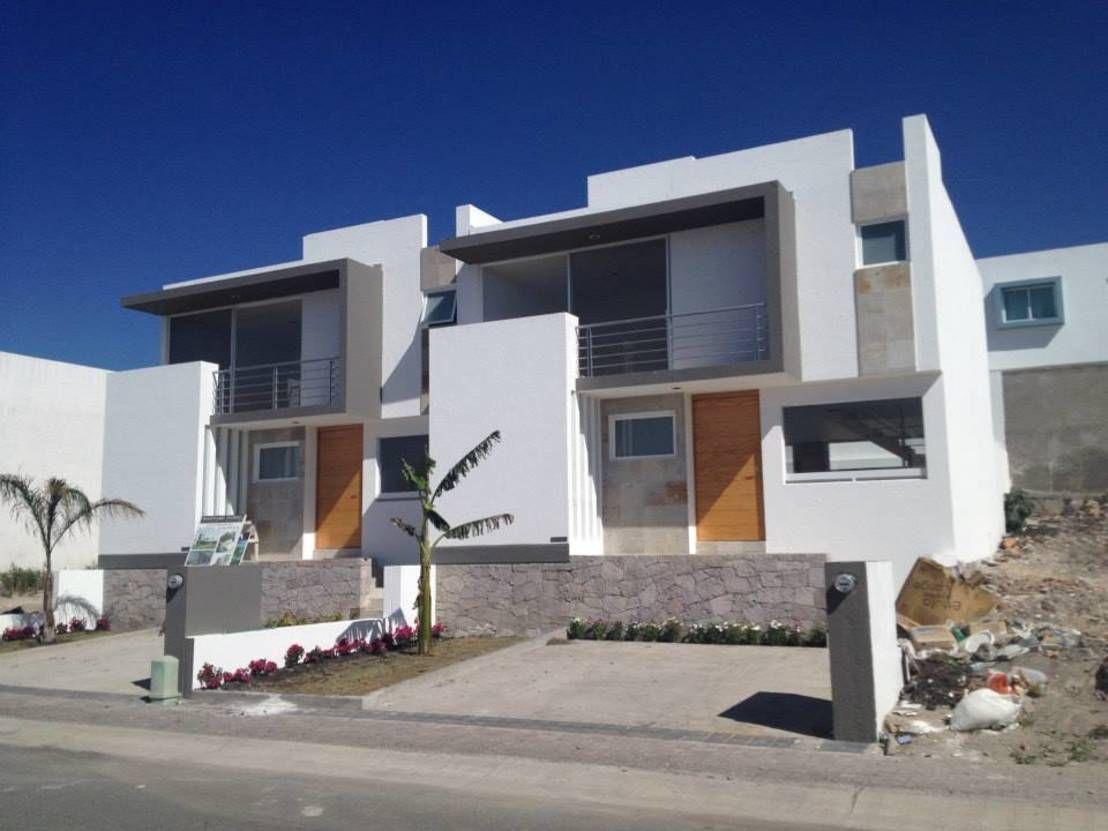7 casas adosadas modernas ventajas y desventajas - Fachadas viviendas unifamiliares ...
