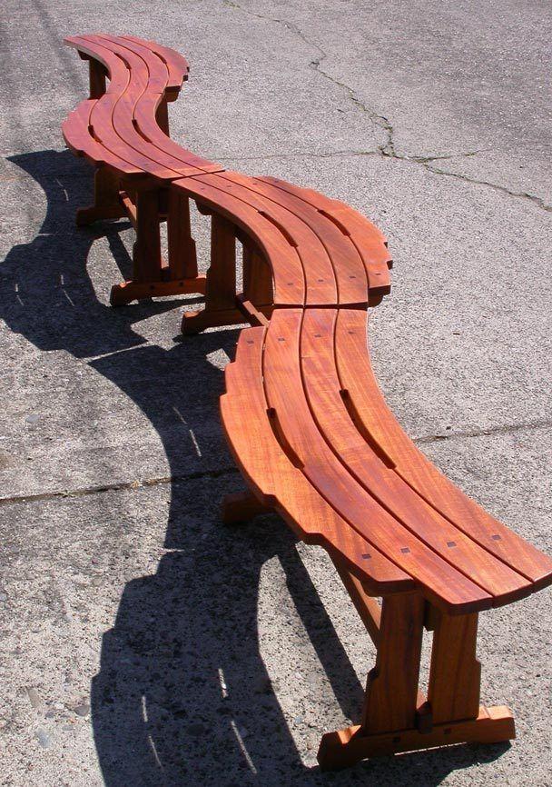 Excelu0027s Coffee Shop (ECS): Tim Celeski Crafts Fine Wood Outdoor Furniture  To Last