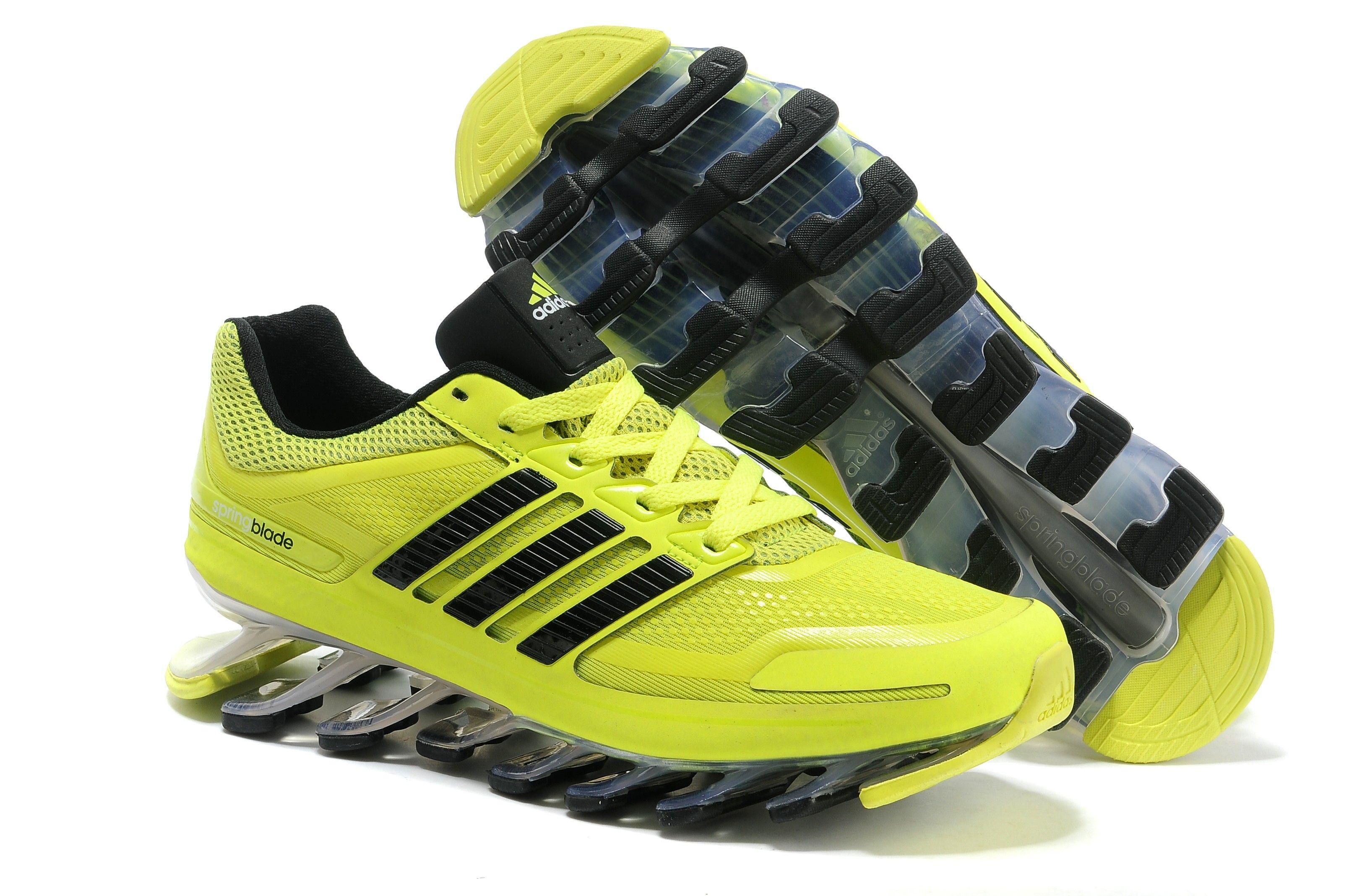 24f47801dfcc Discount Adidas Springblade Green Black Men s Athletics Running shoes Online  Shop