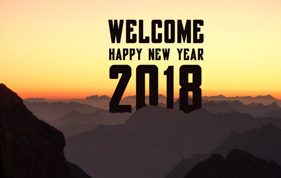 goodbye 2017 welcome 2018 new year images messages and wishes