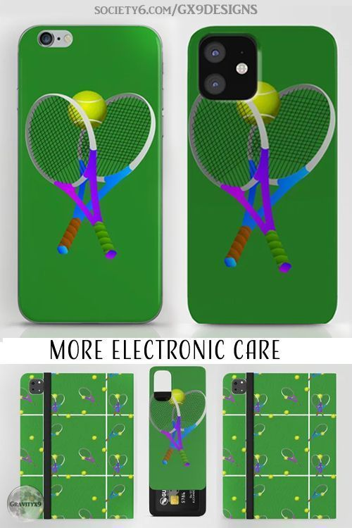 Smart Phone Cases and More Electronics Care   Tennis Rackets and Tennis Ball
