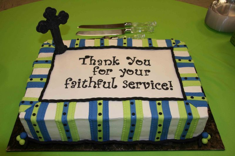 A great cake to show my husband pastor appreciation