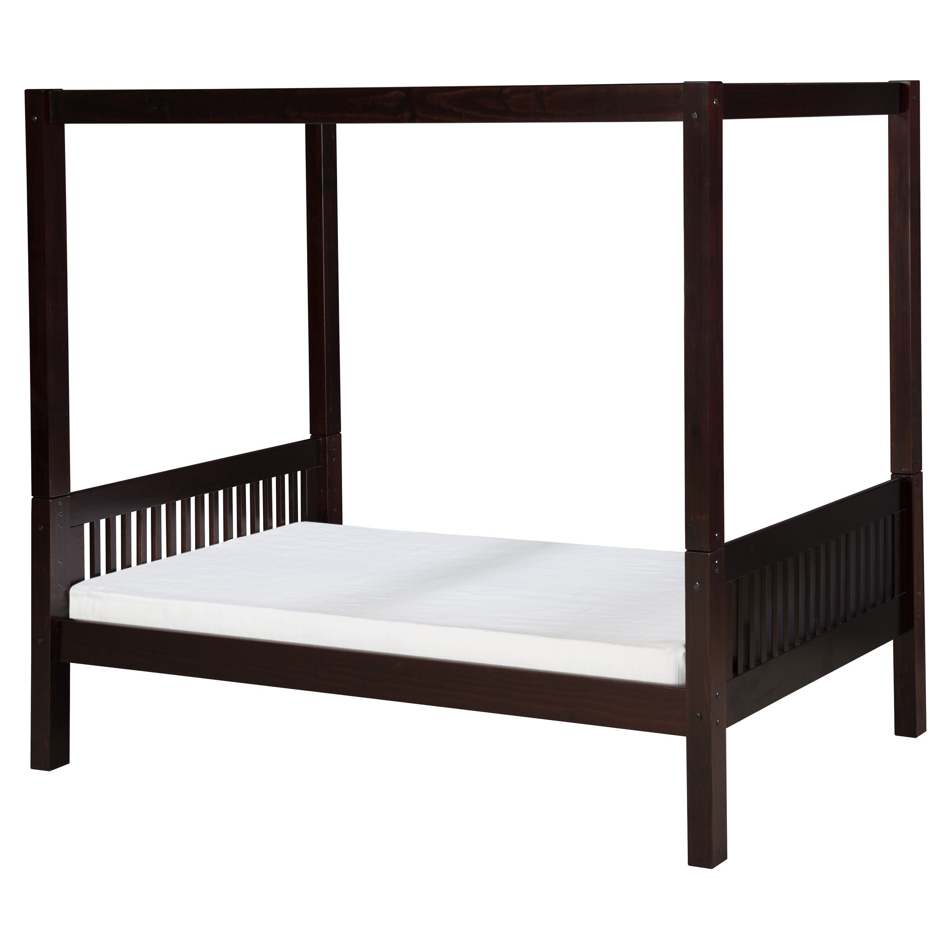Camaflexi Mission Headboard Canopy Bed - C811NT