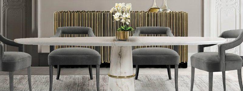 Modernes Wohndesign Shop The Look #Esszimmer