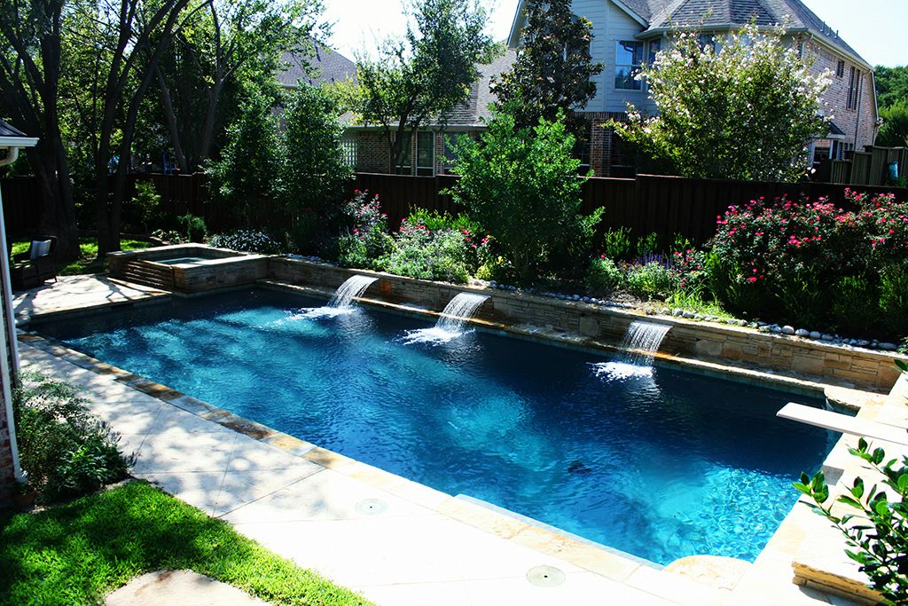 Poolside landscaping ideas | One sweet day ...