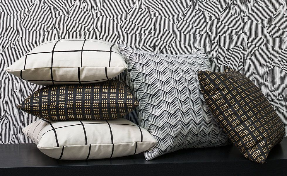 designer ebony ivory kelly wearstler channels pillow x pillows by product cushion