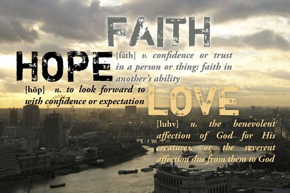 ~Faith, Hope, LOVE