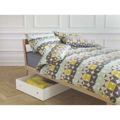 Habitat Mauzy Multi Coloured Patterned Kingsize Duvet Cover Set