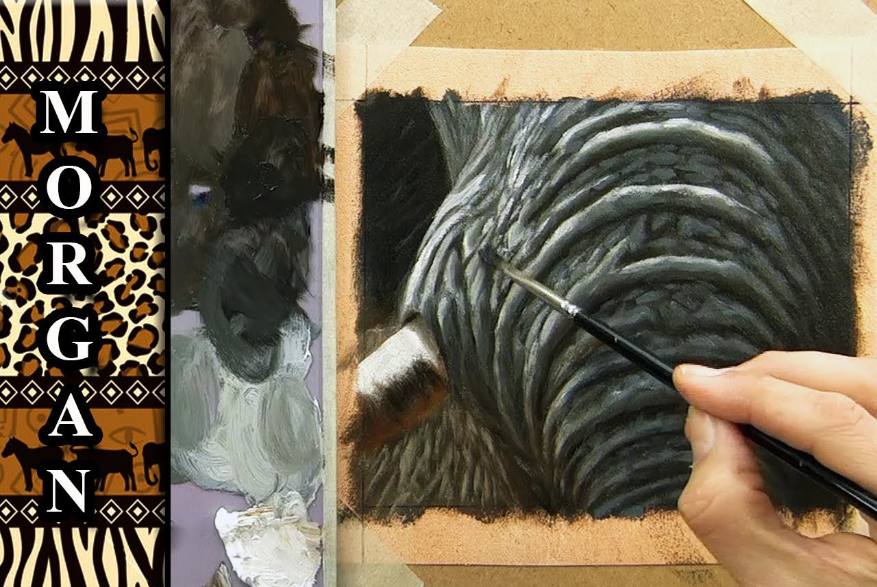 How To Paint An Elephant Skin Wrinkles Painting Tutorial